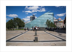 Summer Days (andyrousephotography) Tags: manchester nationalfootballmuseum nfm chethams schoolofmusic cis building printworks greenspaces social people sunshine weather sunny