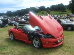 Dodge Viper (Bennydorm) Tags: car cars auto autos motor vehicle motorshow lancashire england dodge dodgeviper red american fast rapide schnell
