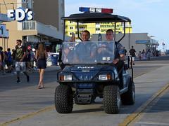 Boardwalk Police (Multielvi) Tags: wildwood new jersey north nj shore boardwalk police cops vehicle utility cart atv club car patrol