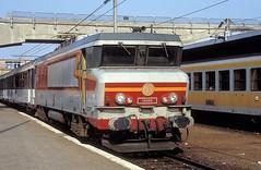 15050  Mulhouse  05.09.91 (w. + h. brutzer) Tags: mulhouse eisenbahn eisenbahnen train trains frankreich france railway elok eloks lokomotive locomotive zug 15000 sncf webru analog nikon