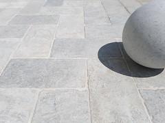gray limestone paving outdoor (odedrobinson) Tags: limestone marble grey patio tumbled paving fishbone antique natural stone piatra naturala