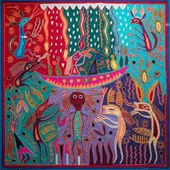 Huichol (Chris Arts) Tags: museonacionaldeantropologia nationalmusuemofanthropology ciudaddemexico mexicocity huichal huicahlart