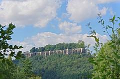 Blick zur Festung Knigstein (Veit Schagow) Tags: koenigsteincastle castle festung knigstein koenigstein blick pfaffendorf