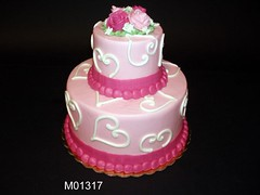 M01317 (merrittsbakery) Tags: cake tiered hearts valentinesday seasonal holiday