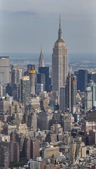 ... Empire State Building from above ... (wolli s) Tags: ny nyc newyork newyorkcity us usa empirestatebuilding helicopter skyline