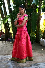 South Actress Madhuchandaphotos Set-3-Hot In Traditional Dress (36)