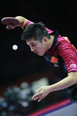 FAN_Zhendong_WTTC2015_R_G_8313r (ittfworld) Tags: world sport ball championship shanghai emotion action young tennis tabletennis junior championships chine