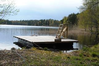 Vår vid sjön