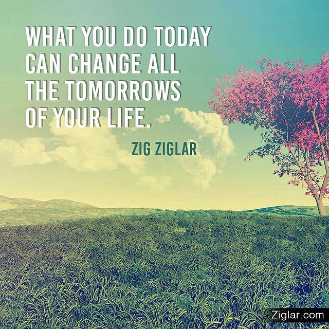 Since its #vesak #day #today (#buddhas #birthday), this #quote fits in #perfectly! #Enjoy the rest of your day! ❤️ #zigziglar