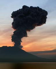 Sakurajima  (lukaszsauc) Tags: japan sunrise canon volcano kagoshima sakurajima  japonia  wulkan eos7d lukaszsauc