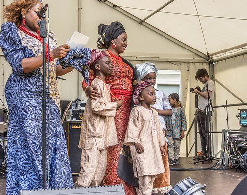 THE BEST DRESSED PEOPLE AT AFRICA DAY 2015 [FARMLEIGH HOUSE IN DUBLIN] REF-104473