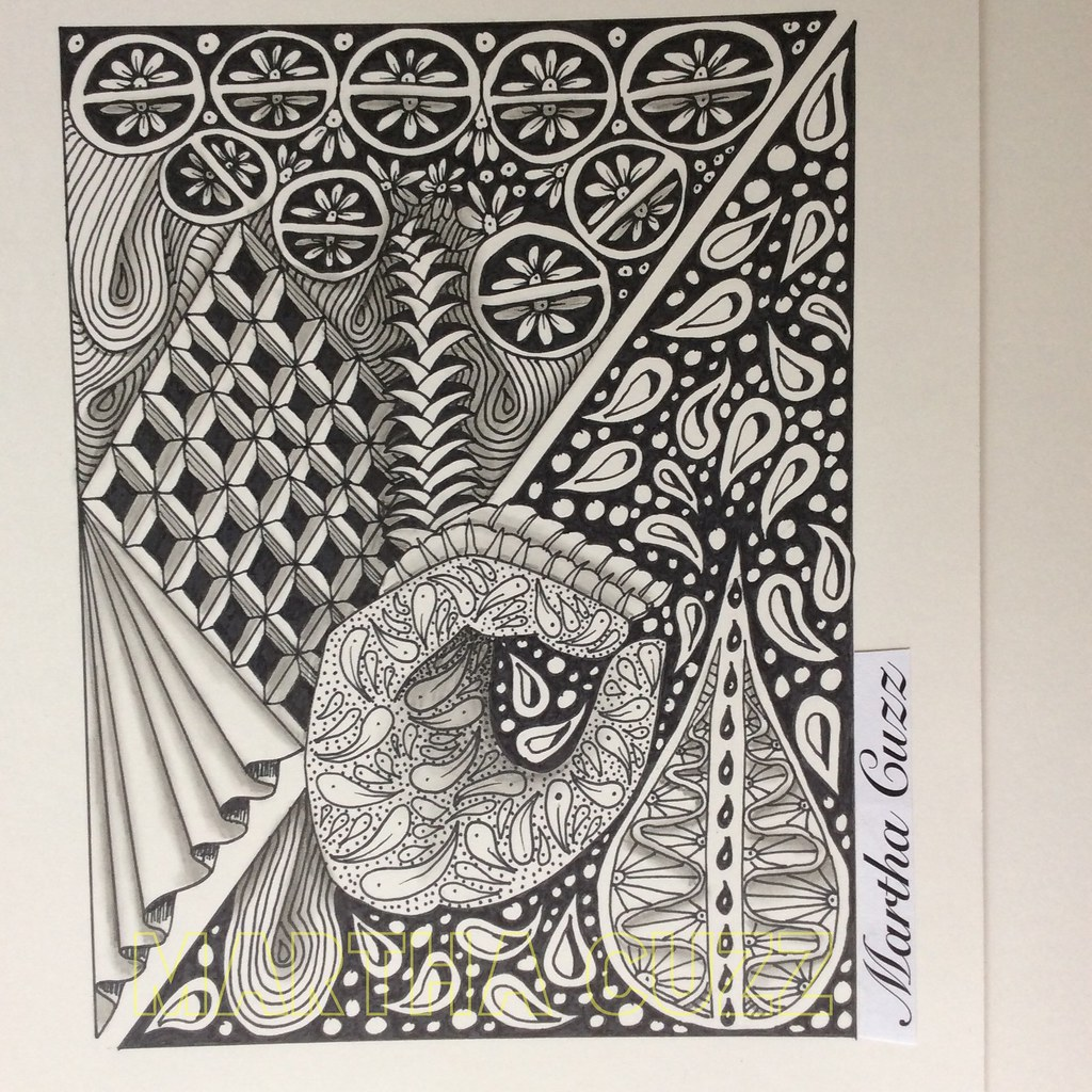 One Line Letter Art : The world s best photos of hand and zentangle flickr