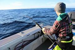 A cracking shot of Jack Quinn and his 127.4kg Broadbill Swordfish caught in Tasmania, Australia   #photocontest #stormlinegear #swordfish #stormline #tasmania #australia #catchoftheday