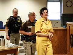 0+-+Jessica+Smith+-+Escorted+From+The+Courtroom,+Wearing+Full+Restraints+Plus+The+Familiar+Slightly+Demented+Look+On+Her+Face (UJB88) Tags: county orange female prison jail facility jumpsuits prisoner inmate chained correctional restrained handcuffed