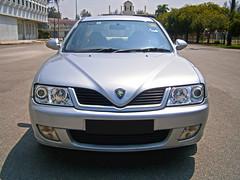 2004 Proton Waja 1.6 AT (ENH) in Ipoh, MY (11, Exterior) (Aero7MY) Tags: 2004 car sedan malaysia 16 saloon ipoh enhanced proton enh waja 16l 4door impian at 4g18