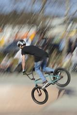 belco bowl jam ariel ii (Seakayem) Tags: ariel bike bicycle bmx minolta sony bowl vert beercan slowshutter jam f4 slt 70210 belconnen belco a55 belcobowljam