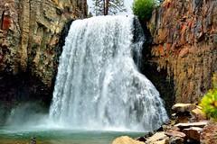 Rainbow Falls, Mammoth, Ca (Explore Jun 15, 2015 #181) (Joe Lach) Tags: california water forest river waterfall rocks mammoth mammothlakes sierranevada rainbowfalls inyonationalforest maderacounty waterpictorial joelach