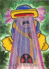 Marvel Masterpieces - Cyclops (j(ay)) Tags: jay cyclops marvel upperdeck scottsummers sketchcard marvelmasterpieces2016