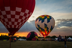 BalloonGlowPrep (jmishefske) Tags: air waterford balloon d7100 balloonfest 6th wisconsin hotair july annual 2016 festival nikon hot