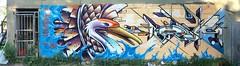 Mediah & Jazi_Toronto (jazi TZP Geneva) Tags: graffiti streetart mediah jazi toronto cbs welsch tzp wall crane water abstract style concret bird japanese street