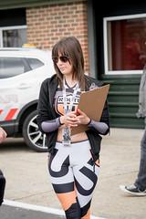 BSB Snetterton 2016 - promo girl (Sacha Alleyne) Tags: snetterton british superbikes championship pirelli motorbike motorcycle moto motorsport racing pitlane paddock babe brunette grid umbrella pit promo promotional girl 2016
