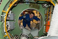 iss048e025108 (NASA Johnson) Tags: cosmonaut oleg skripochka russian segment hatch floating
