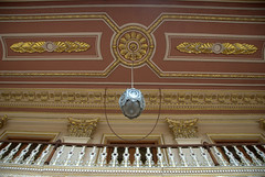 Ceiling of the palace (VinayakH) Tags: india gardens royal palace hyderabad royalpalace nizam telangana chowmahallapalace