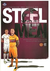 Motherwell v Rangers 20160716 (tcbuzz) Tags: park cup club scotland football fir league motherwell programme betfred spfl