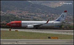 LN-DYG Boeing 737-8JP(WL) c/n 39165 Norwegian Air Shuttle (LEMG) 02/07/2016 (Ken Lipscombe <> Photography) Tags: cn airport spain air norwegian shuttle boeing malaga 39165 lemg 7378jpwl lndyg 02072016