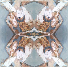 2016-07-08 symmetrical contemporary nude paintings 1 (april-mo) Tags: symetrical nu nude painting modernart experimentaltechnique experimental flipping symmetry