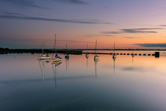 Pastel Hues (Explore 9-7-2016) (Sunset Snapper) Tags: uk sunset seascape colour reflections boats still nikon july peaceful hampshire filter hues lee nd serene yachts grad southcoast tranquil afterglow 2016 2470mm langstoneharbour pastelhues d810 sunsetsnapper