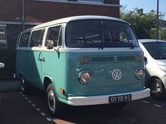 01-YD-95 Volkswagen Transporter 1973 (Wouter Duijndam) Tags: panorama volkswagen pano 1973 t2b transporter 01yd95