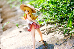 - -ALTER (4) (LeaseLight) Tags: figure  alter japanese figures   grass  earth sunshine