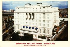Liverpool (Steenvoorde Leen - 2.1 ml views) Tags: ansichtkaart postkaart postcards poskarte karte kaart liverpool grootbtitanie brittania britanniaadelphi hotel