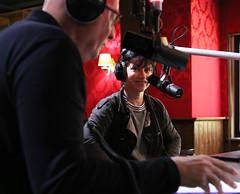 Ellen ten Damme en Arie de Ekster bij Muziekcaf (NPO_Radio2) Tags: muziekcaf npo radio 2 nporadio2 daniel dekker danieldekker ellen ten damme ellentendamme