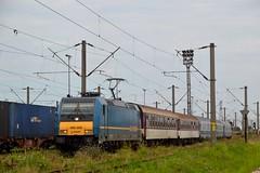 "IR 73 ""Traianus"" (Nikolai Kozarski) Tags: train romania hungary inter regio cfr curtici mav sofia bulgaria bdz traxx"