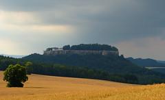 Knigstein (isajachevalier) Tags: knigstein elbsandsteingebirge schsischeschweiz landschaft natur sachsen panasonicdmcfz150