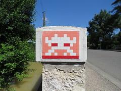 Space Invader TLS_02 (tofz4u) Tags: 31 toulouse languedoc hautegaronne villerose artderue invader spaceinvader spaceinvaders mosaïque mosaic tile tls02 32 gers campagne franceprofonde deepinthecountry