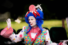 showmens rest. august 2016 (timp37) Tags: clown showmens rest illinois august 2016 woodlawn cemetary woman lady forest park