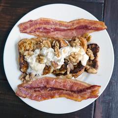 DSCF2446 (Synnyster) Tags: fuji xt1 xf1855mmf284 brunch bacon frenchtoast brioche