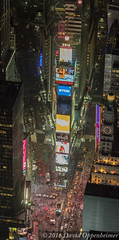 Times Square Aerial Photo (Performance Impressions LLC) Tags: timessquare timessquareaerial nyc newyork newyorkcity manhattan aerial night city lights citylights taxis people midtown midtownmanhattan billboards advertisements 10019 unitedstates usa 13892931902
