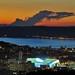 Crépuscule sur Marseille un soir de match
