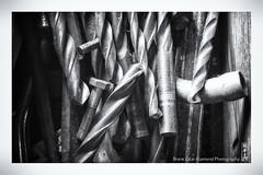 drill bits (alamond) Tags: drillbit drill tool hole lines circles vibes dust screww metal bw blackandwhite monochrome canon 7d markii mkii llens ef 1740 f4 l usm alamond brane zalar