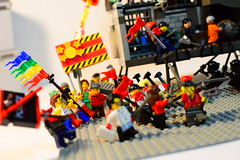 Ringing of Revolution [CommieBlocks] (SuperLushFeverDream) Tags: lego legovignette legos minifigures minifigs moc mocs marx marxism marxist communism communist socialism socialist revolution politics political agitprop propaganda leftwing leftism leftist historical poster posterized minifig commieblocks toy toys insurrection protest revolt propagandaposter capitalism anticapitalism anticapitalist vignette anarchy anarchism anarchist