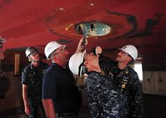 160816-N-XF387-204 (CTF 76) Tags: ussblueridge usnavy yokosuka ctf76 admiral srf edsra shiptour japan