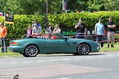 2000 Aston Martin DB7 Vantage Volante (cerbera15) Tags: sharnbrook hotel italian car bike day 2016 aston martin db7 vantage volante