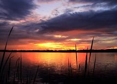 St. Sebastian Sunset (KM Preston Photography) Tags: water bestcapturesaoi anawesomeshot cloudy night 100views cloudsstormssunsetssunrises flickrmostinteresting yahooweather views projectweather 500views planetearth