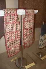 Sarawak woven vest.ARW (quinet) Tags: 2015 aborigne borneo iban kuching kuchingtextilemuseum malaysia sarawak ureinwohner native