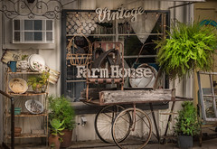 Vintage Farm House (Jims_photos) Tags: vintagefarmhouse antiques antiquestore wimberleytexas windowwednesday texas outdoor outside oldmemories adobelightroom adobephotoshop shadows sunnyday daytime downtown jimallen lightroom vintage nopeople memories