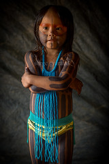 Kayapo (guiraud_serge) Tags: brazil portrait brasil amazon tribes indios brésil amazonia amazonie tribos kaiapo tribus kayapo indiensdamazonie sergeguiraud jabiruprod amazonsindians portraitkayapo